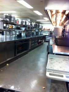 This is one of the many kitchens in the Air Canada Center in Toronto, ON